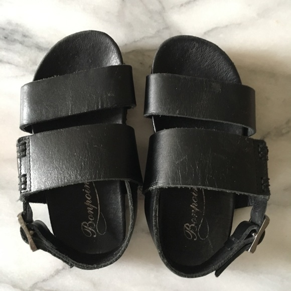 28f1099f60cab Bonpoint toddler leather sandals